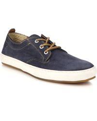 Frye Norfolk Nubuck Leather Deck Shoes blue - Lyst