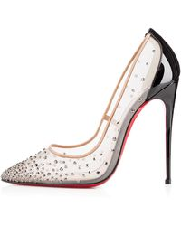 Christian Louboutin Follies Strass - Lyst