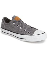 Converse Chuck Taylor All Star Woven Sneaker gray - Lyst