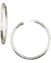 Ippolita - Electroform Hoop Earrings - Lyst
