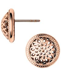 Links Of London Timeless Domed Stud Earrings - Lyst