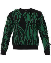 Stella McCartney Shibori Merino-Wool Sweater - Lyst