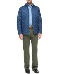 Peter Millar - Raleigh Washed-Twill Pants - Lyst