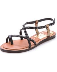 Dolce Vita - Flame Toe Ring Sandals - Lyst