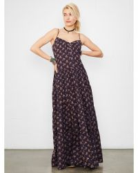 Denim & Supply Ralph Lauren Floral Boardwalk Maxidress - Lyst