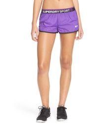Superdry - Gym Shorts - Lyst