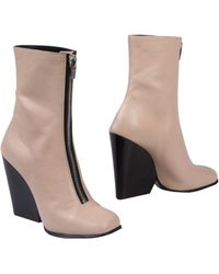 Celine Ankle Boots - Lyst