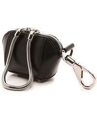 Alexander Wang Chastity Mini Makeup Pouch Black - Lyst