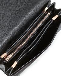 Alexander Wang Prisma Pebble Leather Envelope Clutch - Lyst