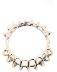 Anndra Neen Conch Bangle - Lyst