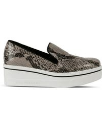 Stella McCartney Dust Binx Loafers animal - Lyst