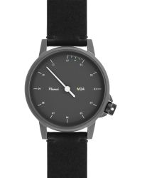 Miansai - M24 Stainless Steel Watch With Leather Strap - Lyst