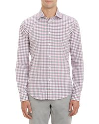 Richard James Gingham Check Shirt - Lyst
