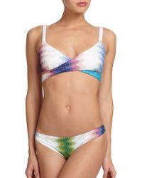 Missoni Mare Two-Piece Greca Operata Bikini - Lyst