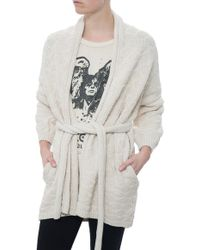 Humanoid Thick Knit Cardigan - Lyst