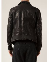 Guidi Black Fitted Jacket - Lyst