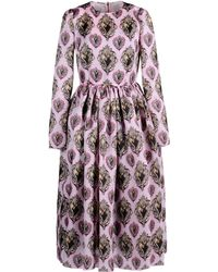 Dolce & Gabbana 3/4 Length Dress pink - Lyst