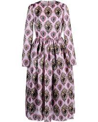 Dolce & Gabbana 3/4 Length Dress pink - Lyst