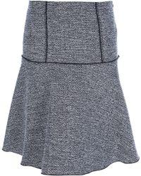 Proenza Schouler Tweed Skirt - Lyst