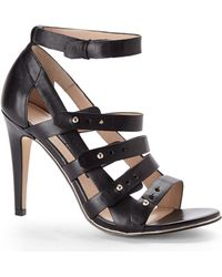 French Connection Black Nolinda Sandals - Lyst