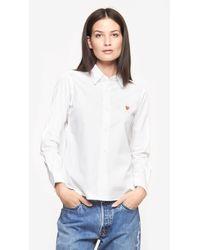 Play Comme Des Garçons Tiny Emblem Shirt - Lyst