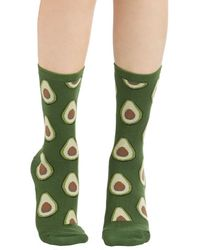 Socksmith Good To Avocado Socks - Lyst