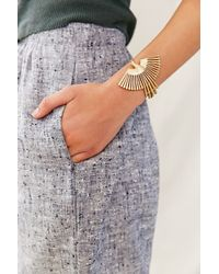 Urban Renewal - Torchlight Brass Thunderbird Cuff - Lyst