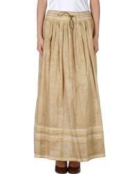 Siviglia - Long Skirt - Lyst