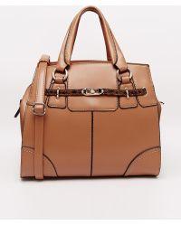 Little Mistress - Structured Handheld Bag - Lyst