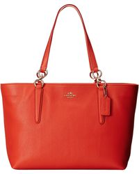 Coach Chicago Ellis Tote red - Lyst
