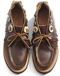 Yuketen - Leather Moc Chukka Boot - Lyst