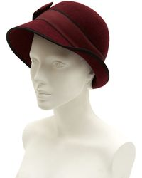 Christys' - Red Susie Cloche Hat - Lyst