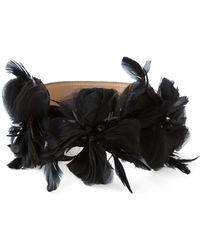 Matthew Williamson Feather Flower Belt - Lyst
