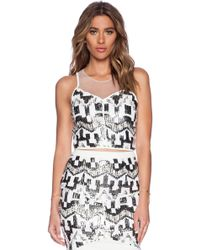 Lumier - Diamond In The Rough Top - Lyst