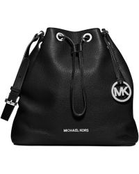 Michael Kors Michael Jules Large Drawstring Shoulder Bag - Lyst