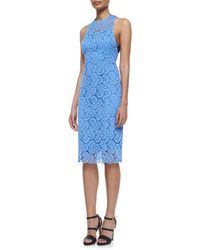 Nanette Lepore Sultry Lace Cocktail Dress - Lyst