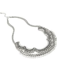 Forever 21 - Tribal-inspired Crescent Necklace - Lyst