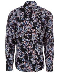 Paul Smith Pink 'Cactus Flower' Print Shirt - Lyst