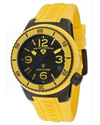 Swiss Legend - Womens Neptune 40 Mm Black Dial Yellow Silicone Slbb01yl Watch - Lyst