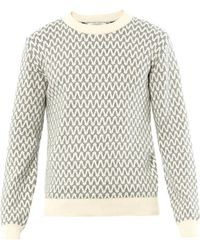 Patrik Ervell - Pattern Cottonknit Sweater - Lyst