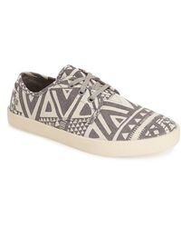 TOMS Classic Paseos Printed Sneakers - Lyst