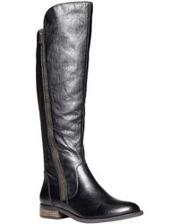 Steve Madden Shawny Tall Leather Boots - Lyst