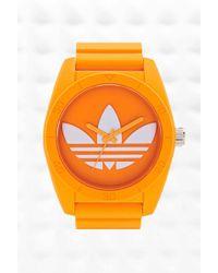 adidas - Originals Large Santiago Watch In Orange - Lyst