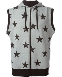 Moschino Star Print Gilet - Lyst
