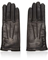 Nina Ricci - Laceddetail Leather Gloves - Lyst