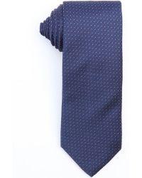 Prada Ink Silk 'Microdesign' Microdot Print Tie - Lyst