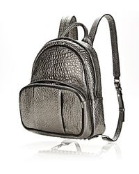 Alexander Wang Dumbo Backpack in Carbon with Rhodium - Lyst