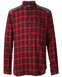 Comme Des Garçons Twill Corduroy Shirt - Lyst
