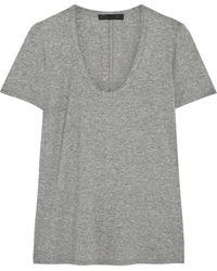 The Row Bobbi Stretchjersey Tshirt - Lyst