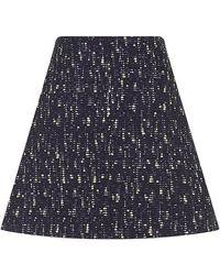 Chloé Flamã Tweed Skirt - Lyst